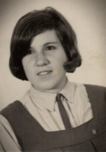María Amalia Melillo, alumna del Instituto Adventista Florida (1965).